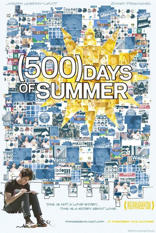 Resultado de imagen para 500 dias con ella poster